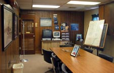 MidContinent Aircraft Corp's facilities with a pilots lounge
